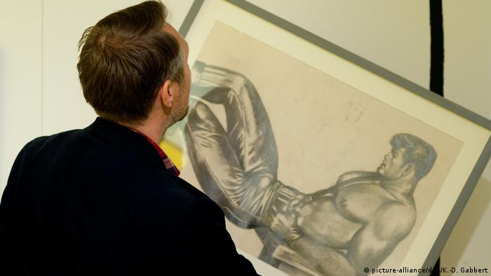 Touko Laaksonen alias Tom of Finland in Berlin (picture-alliance/dpa/K.-D. Gabbert)