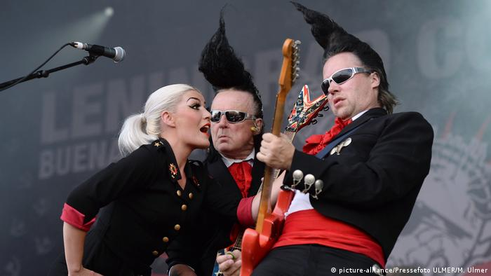 Leningrad Cowboys perform at Rock of Ages in Rottenburg-Seebronn (picture-alliance/Pressefoto ULMER/M. Ulmer)