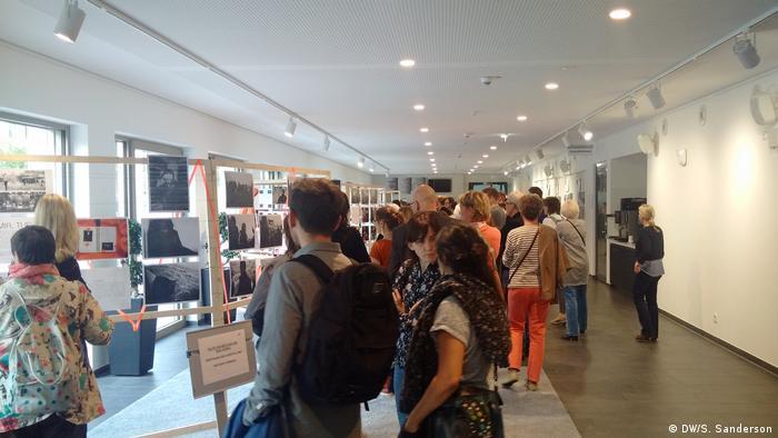 Deutschland Veranstaltung RefugeeCameras in Bonn (DW/S. Sanderson)