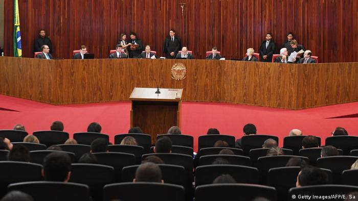 Brasilien Oberstes Wahltribunal (TSE) (Getty Images/AFP/E. Sa)