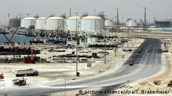 Katar - Gasanlagen von Ras Laffan
