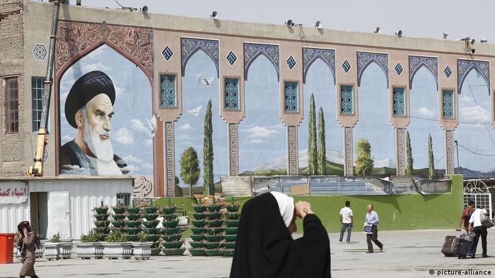 Iran Chomeini Mausoleum in Teheran