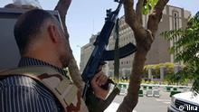Schießerei im iranischen Parlament