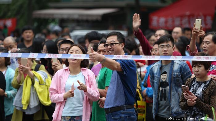 China Hochschulaufnahmeprüfung Gaokao (picture-alliance/dpa/Y. Yang)