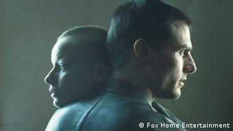 Filmszene Minority Report mit Tom Cruise