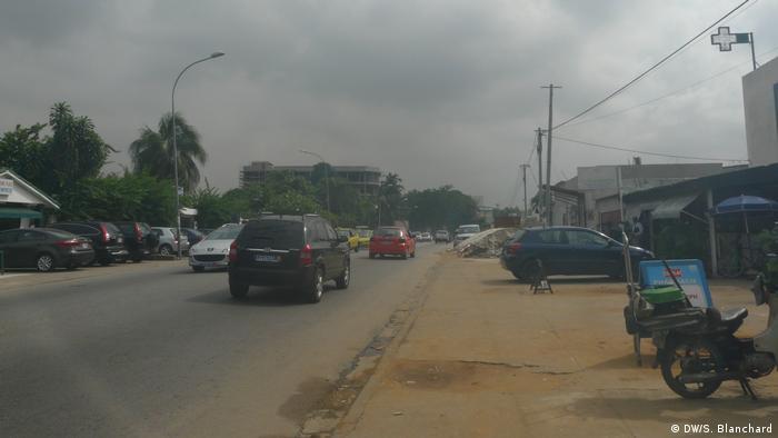 Elfenbeinküste Abidjan Smog