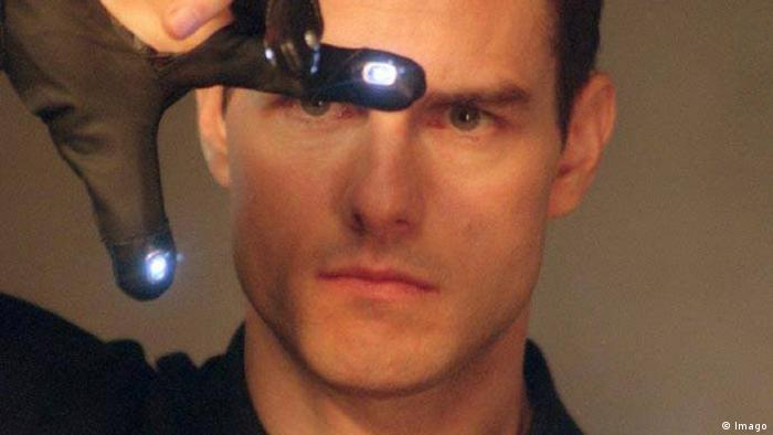 Minority Report Tom Cruise quer