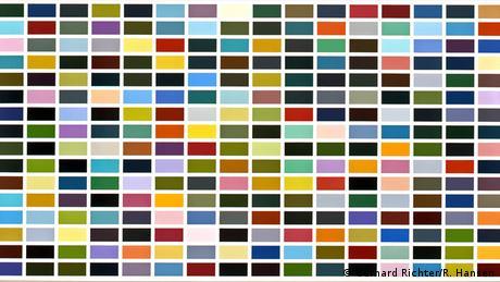 «256 χρώματα» είναι ο τίτλος ενός από τα πιο γνωστά μοτίβα του σημαντικού Γερμανού εικαστικού Γκέρχαρντ Ρίχτερ. O πίνακας της φωτογραφίας αποτελεί μια από πρώτες εικαστικές απόπειρες του Ρίχτερ σε αυτό το πρωτότυπο στιλ (1974). Ο ίδιος εξέλιξε το ίδιο θέμα σε βάθος χρόνου και κάθε τόσο παρουσίαζε διάφορες εκδοχές του.
