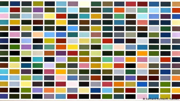 Gerhard Richter painting, 256 Colors (Gerhard Richter/R. Hansen)