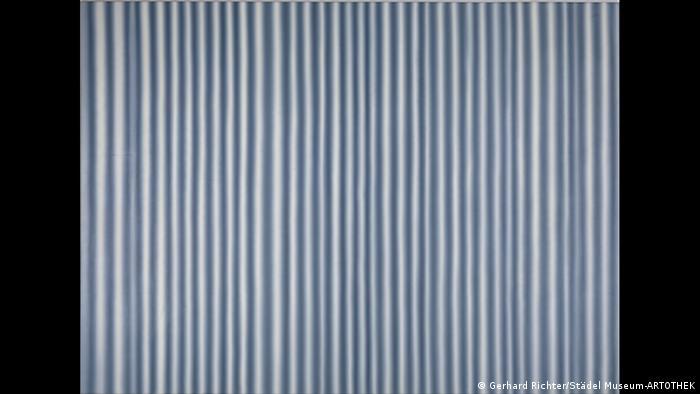 Gemälde Großer Vorghang von Gerhard Richter (Foto: Gerhard Richter/Städel Museum-ARTOTHEK)