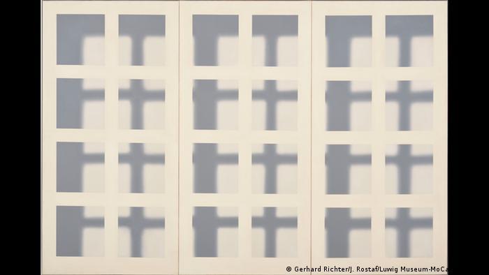 Gemälde Fenstergitter von Gerhard Richter (Foto: Gerhard Richter/J. Rostaf/Ludwig Museum-MoCa, Budapest)