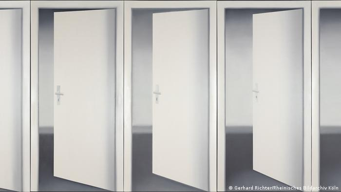 Gerhard Richter painting, Five Doors (Gerhard Richter/Rheinisches Bildarchiv Köln)