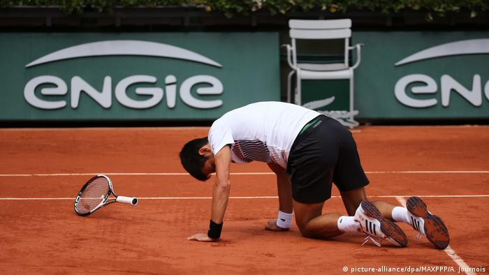 Frankreich Paris - French Open - Novak Djokovic gegen Dominic Thiem (picture-alliance/dpa/MAXPPP/A. Journois)