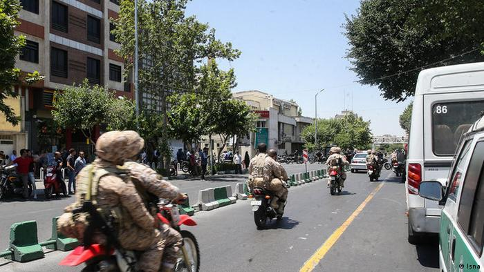 Tehran Anschlag (Isna)