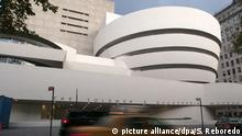 USA Solomon R. Guggenheim Museum in New York