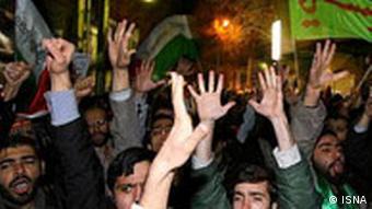 تظاهرات گروهای تندرو ایرانی علیه مصر