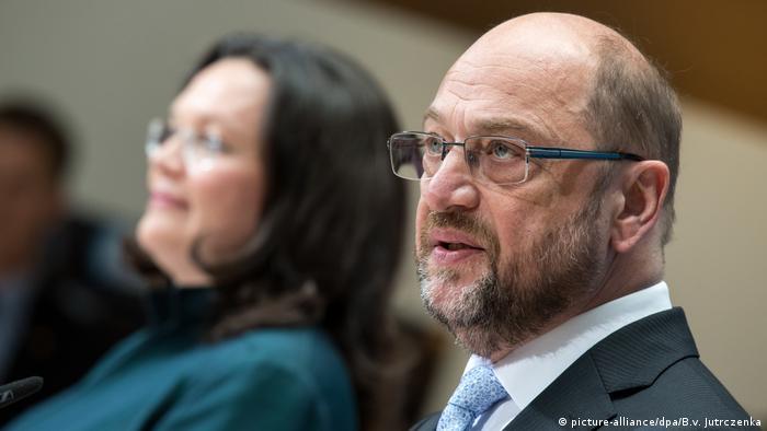 SPD präsentiert ihr Rentenkonzept | Andrea Nahles & Martin Schulz
