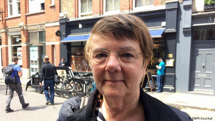 UK voter Annette Holland