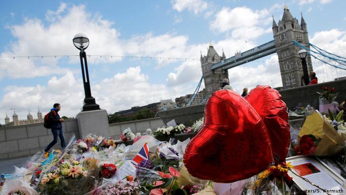 London Trauer nach Anschlag auf London Bridge