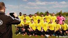 Film Still aus 'Refugee 11 - Fußball als Heimat' Doku