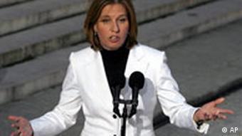 Tzipi Livni Außenministerin Israel
