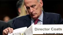 USA Dan Coats, National Intelligence
