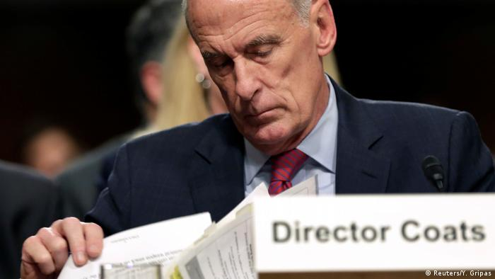 USA Dan Coats, National Intelligence (Reuters/Y. Gripas)