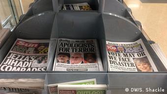 Großbritannien Parlamentswahl - Presse