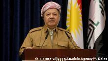 Irak Masud Barzani, Präsident der Autonomen Region Kurdistan