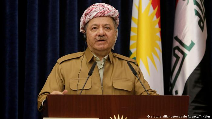 Masoud Barzani is trying to boost his nationalist creditionals and distract from political and economic problems at in the Kurdish region