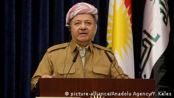 Irak Masud Barzani, Präsident der Autonomen Region Kurdistan (picture-alliance/Anadolu Agency/Y. Keles)