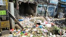 Indien Umweltverschmutzung in Kalkutta