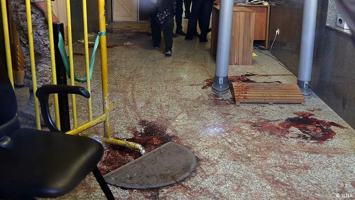 Iran Teheran - Terrorangriff im Parlament (ILNA)