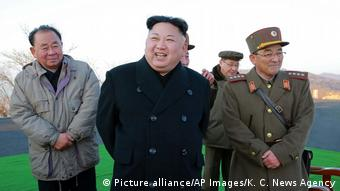 Nordkorea Nuklear (Picture alliance/AP Images/K. C. News Agency)
