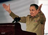 今年1月1日,劳尔·卡斯特罗在纪念古巴革命50周年大会上