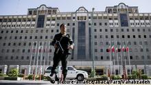 Iran Angriff auf das Parlament in Teheran