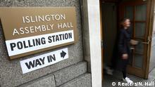 Großbritannien Parlamentswahl