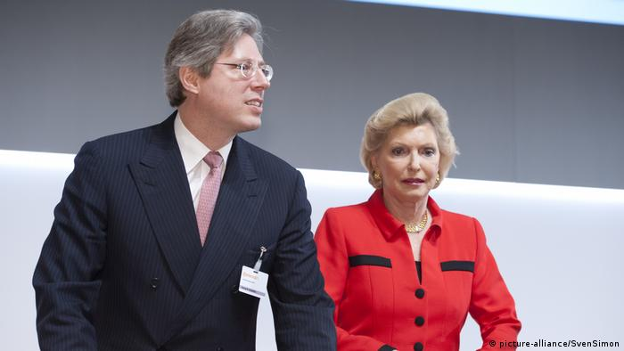 Georg Schaeffler and Elisabeth Schaeffler-Thumann (picture-alliance/SvenSimon)