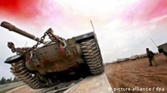 Symbolbild Krieg Panzer