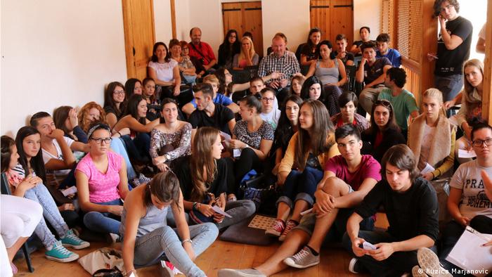 Jugendliche und Versöhnung in Bosnien, Kroatien und Serbien