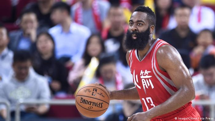 James Harden (Imago/China Foto Press)