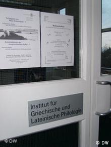 Institut für Griechische und Lateinische Philologie Freie Universität Berlin
