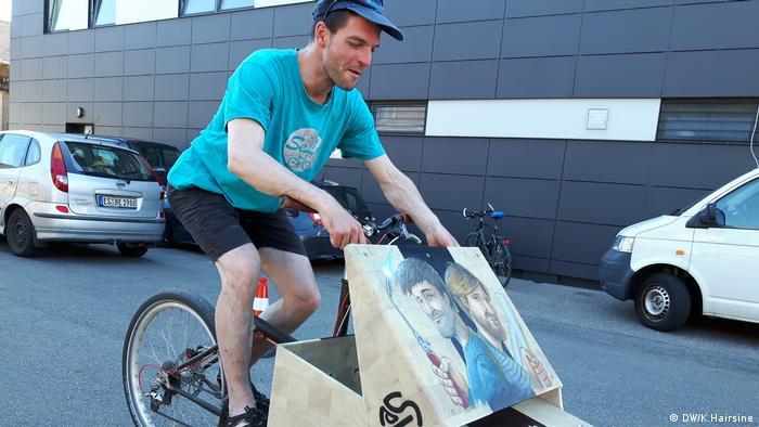 Cargo Fahrrad Germany (DW/K.Hairsine)