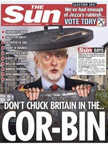 Cover Zeitung The Sun