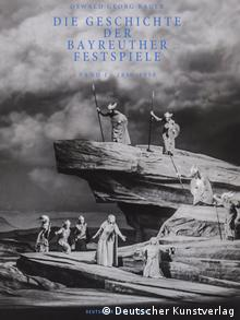 Book on the history of the Bayreuth Festival by Oswald Georg Bauer (Deutscher Kunstverlag)