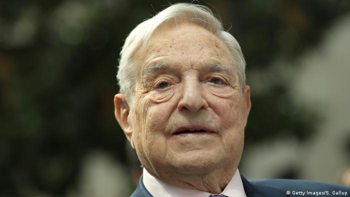 Geroge Soros (Getty Images/S. Gallup)