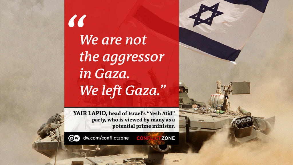 Yair Lapid: ′Israel will protect its interests no matter