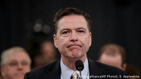 James Comey (picture-alliance/AP Photo/J. S. Applewhite)