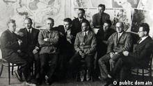 The-may-brigade-in-the-ussr-1931 Brigade May Gruppe um Ernst May Quelle: https://commons.wikimedia.org/wiki/File:The-may-brigade-in-the-ussr-1931.jpg (c) public domain