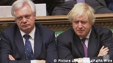 David Davis und Boris Johnson